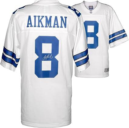 online retailer 2597a 4e494 Troy Aikman Dallas Cowboys Autographed Pro Line White Jersey ...