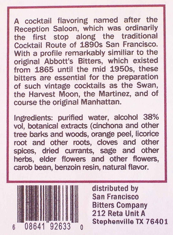 Amazon com : Reception Cocktail Bitters (Abbott's Bitters