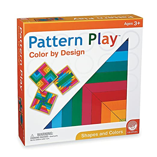 Amazoncom Mindware Pattern Play Bright Colors Toys Games
