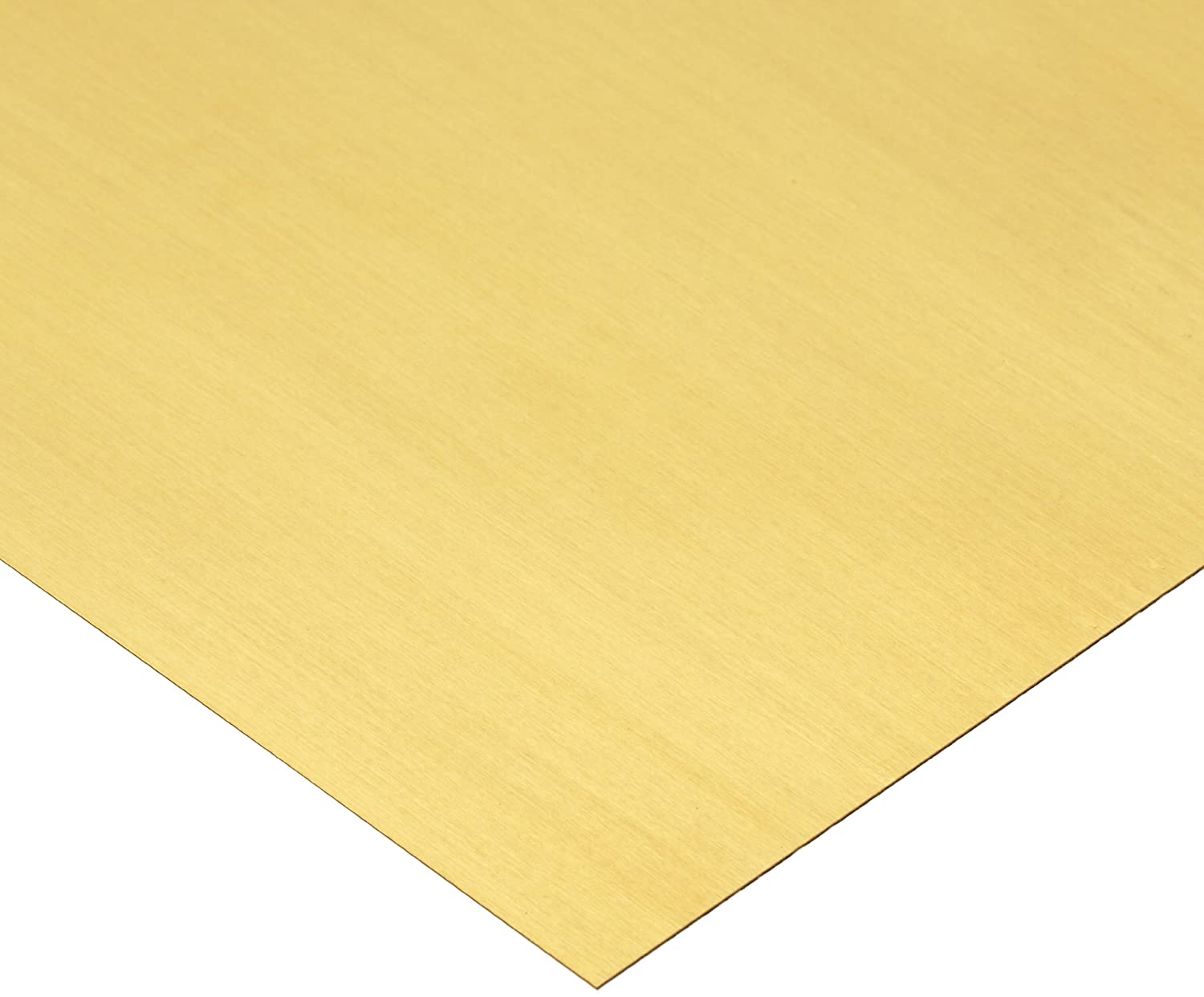 0.006 Thickness Mill H02 Temper Finish 100 Length 260 Brass Sheet ASTM B19//ASTM B36 6 Width Unpolished