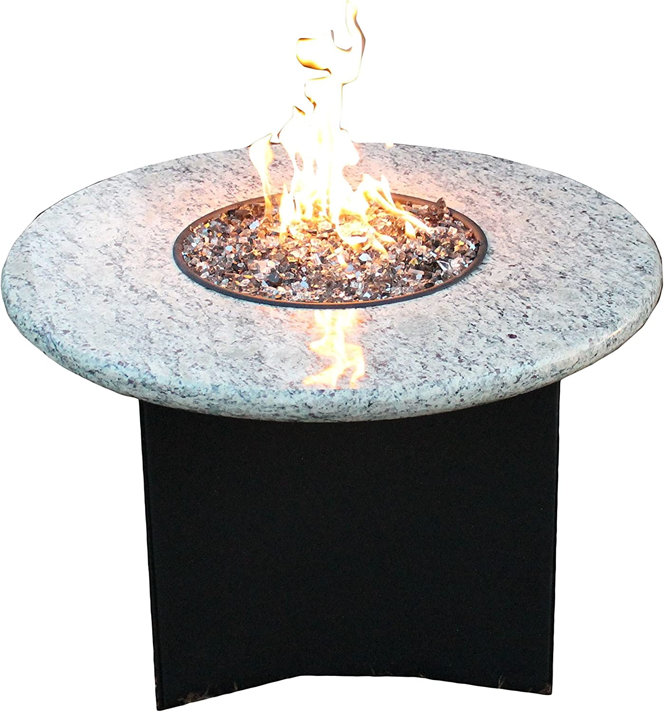 Oriflamme Mini 32 Granite Propane Fire Pit Table