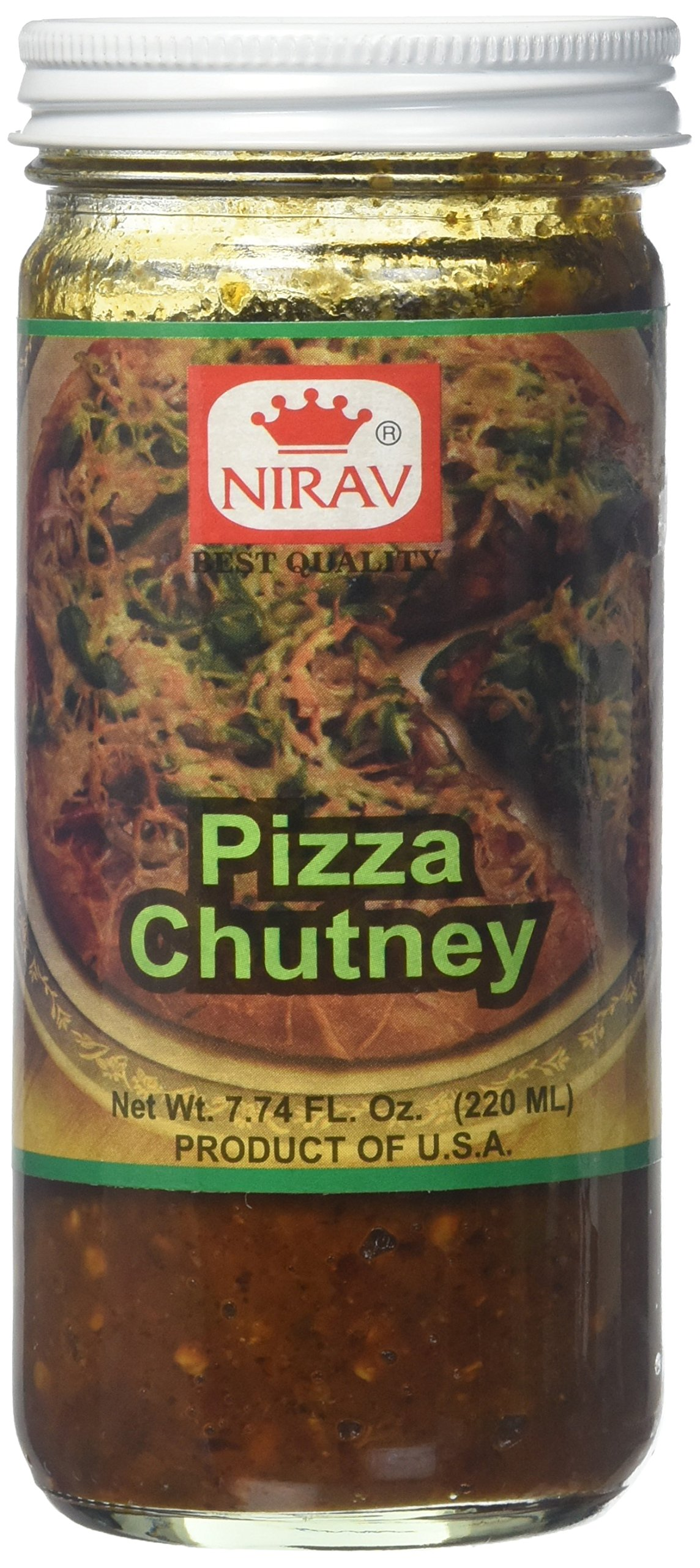 Nirav, Pizza Chutney, 220 Grams(gm)