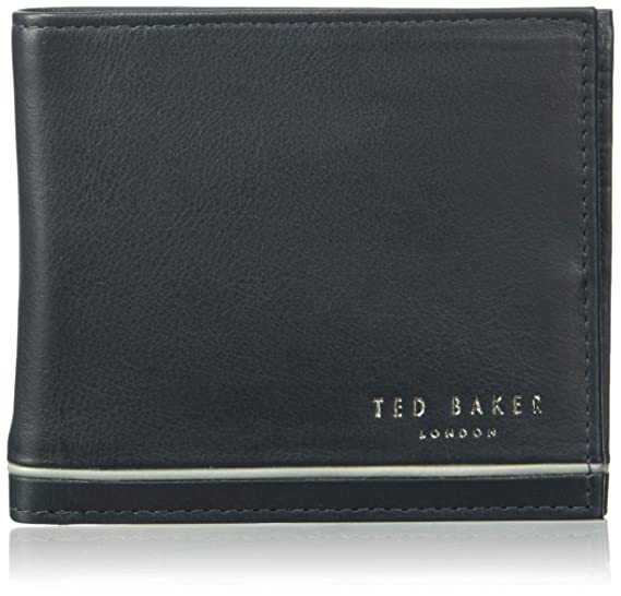 f67a90cbd Ted Baker Men's Jeeze Wallet, Charcoal, One Size: Amazon.co.uk: Clothing