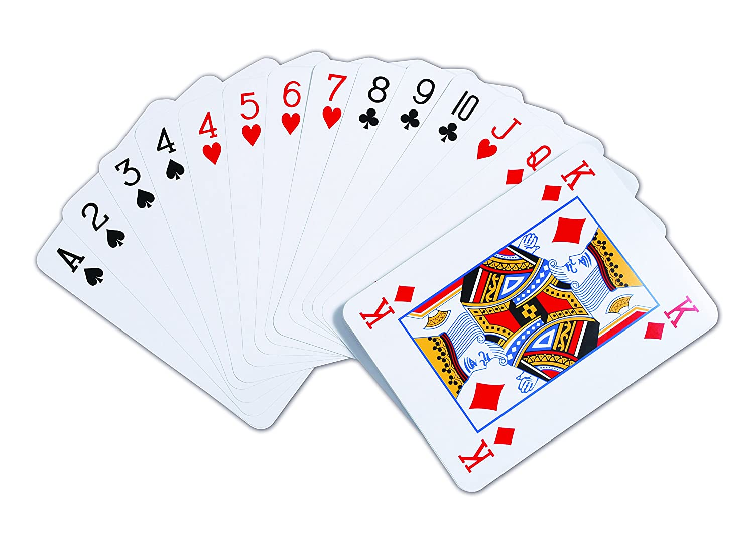 TickiT 9600 Giant Playing Cards Pack of 52