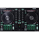 Roland, Black, Two-Channel, Four-Deck with Serato DJ Pro (DJ-202)