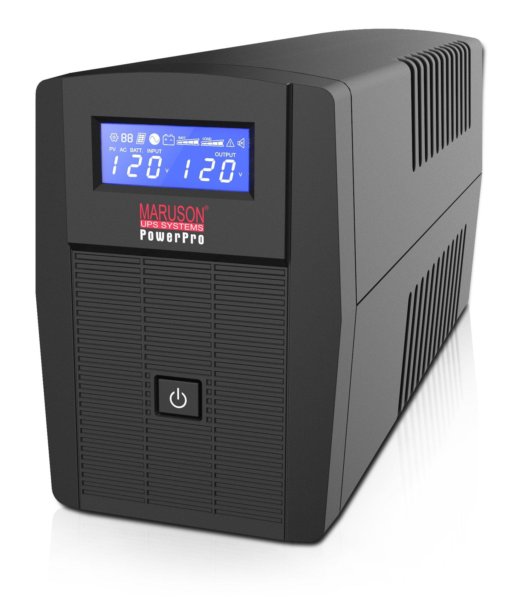 MARUSON PRO-550LCD 550VA/300W LINE INTERACTIVE UPS