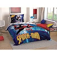 Taç Spiderman into Spiderverse Tek Kişilik Nevresim Takımı