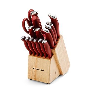 KitchenAid 16 Piece Set Stamped Delrin, Red