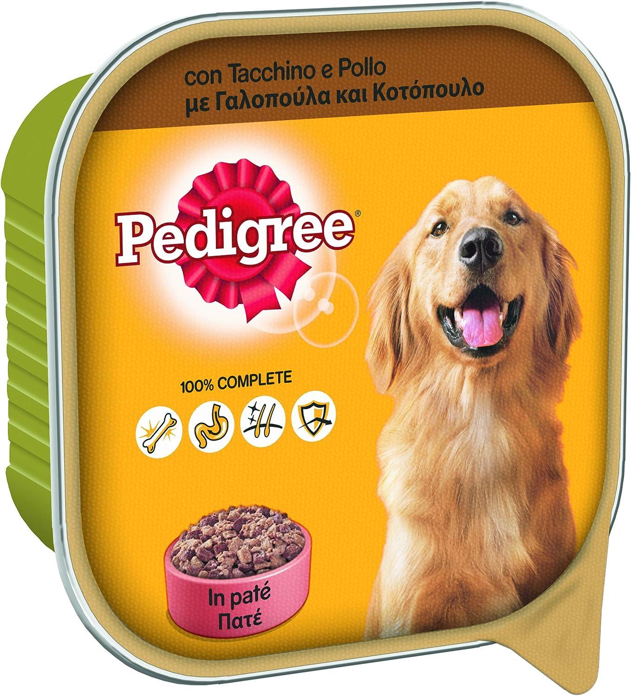 Pedigree Cibo Per Cane Con Tacchino E Pollo In Pate Vaschetta 300 G 20 Vaschette Amazon It Prodotti Per Animali Domestici