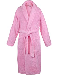 1a9cf88986 Amazon.com  BC BARE COTTON 100% Turkish Men Terry Velour Shawl Robe ...