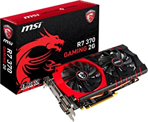MSI R7 370 GAMING 2G Graphics Card