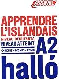 Apprendre l'Islandais : Niveau débutant A2 (1CD audio MP3)