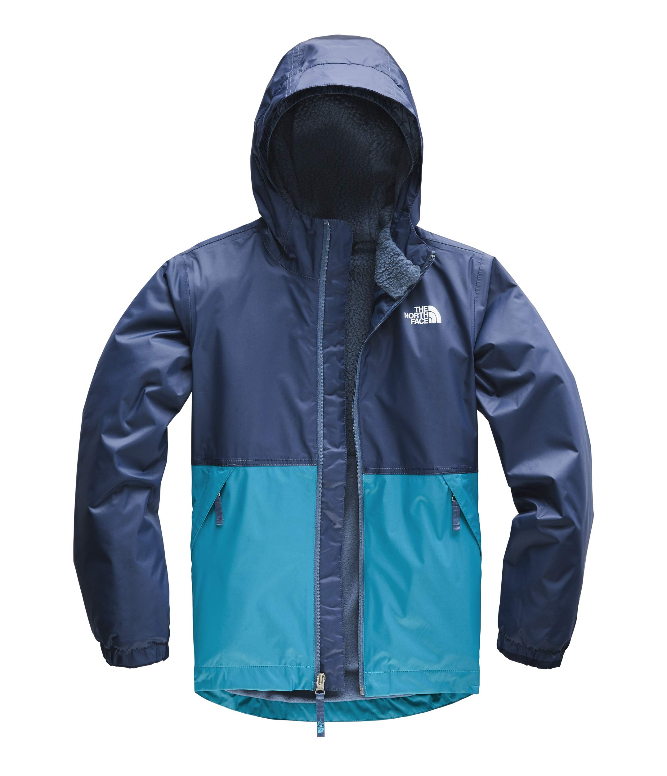 The North Face Kids Boy's Warm Storm Jacket (Little Kids/Big Kids) Caribbean Sea Medium