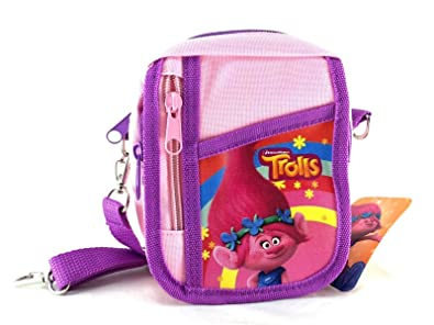 Amazon.com: Trolls Poppy Medium Shoulder Bag/bolso bandolera ...