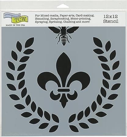 Amazon.com: The Crafter\'s Workshop TCW800 Laurel Wreath Template ...
