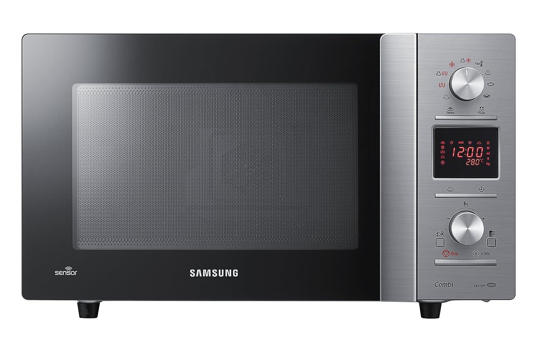 Samsung CE118PPTX1/XEF Encimera 32L 1400W Negro, Acero inoxidable ...