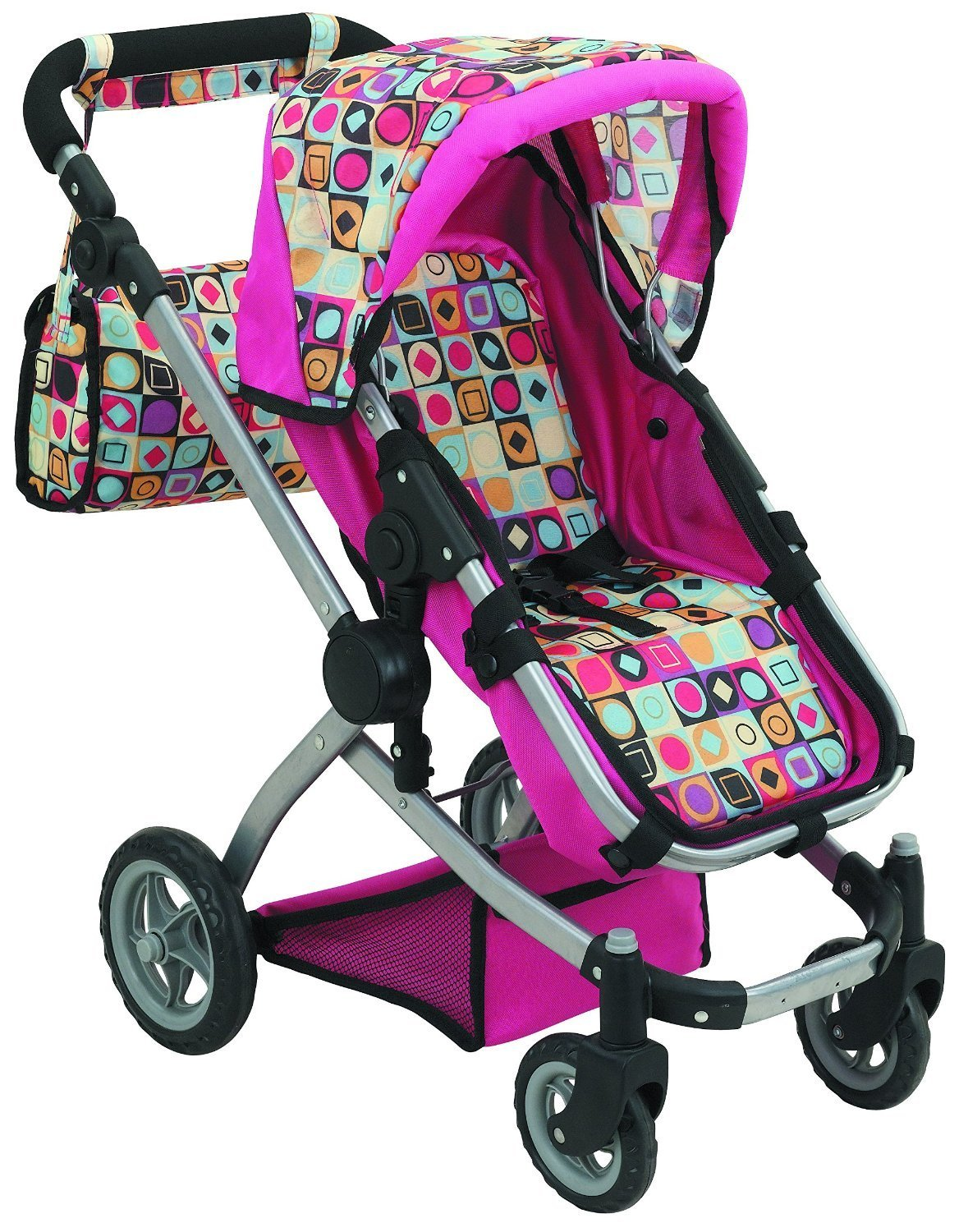 Amazon Com Doll Strollers Pro Deluxe Doll Stroller With Swiveling