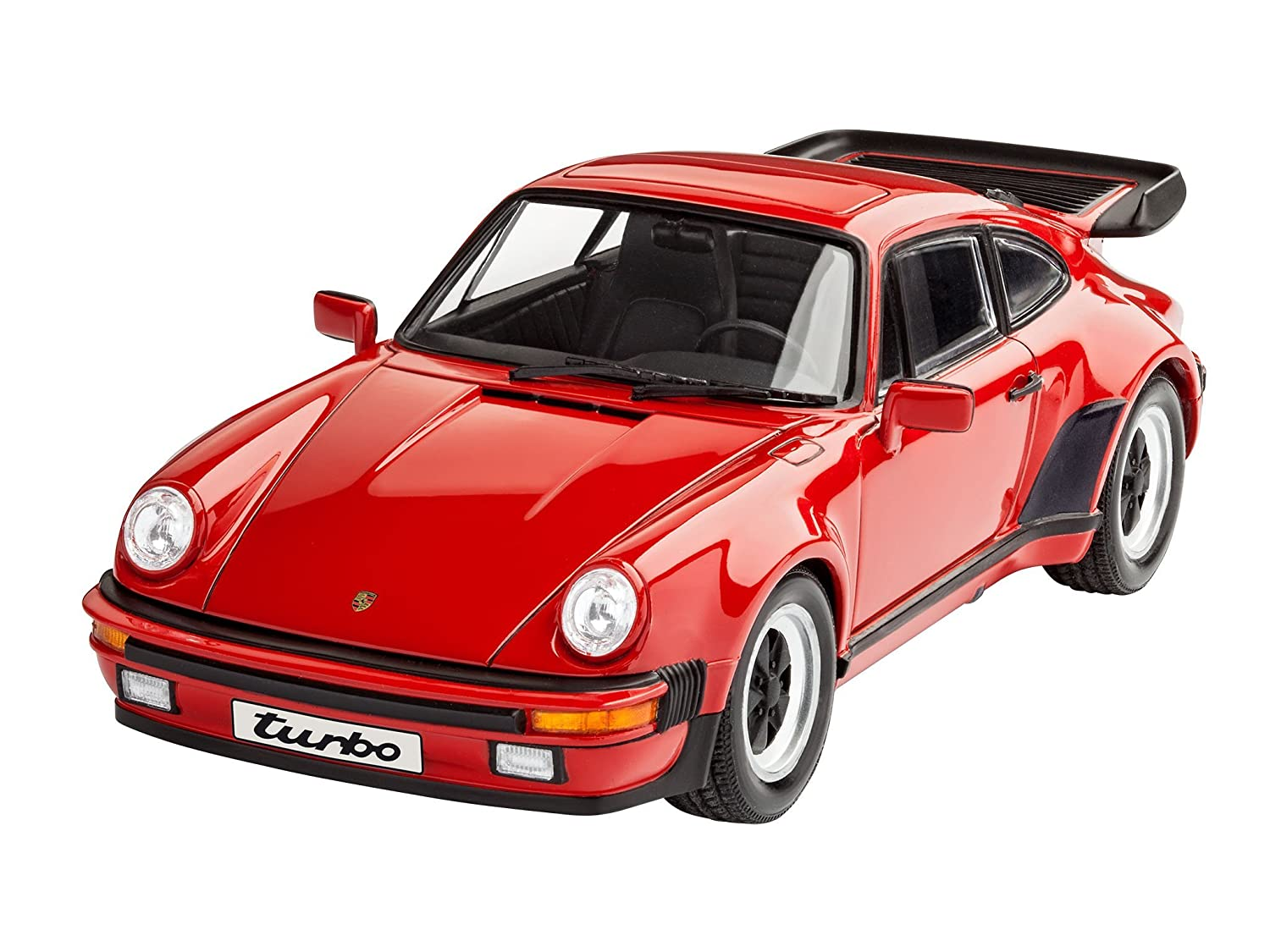 Revell Maqueta Porsche 911 Turbo, Kit Modelo, Escala 1:24 (07179), Color Rojo 18,0 cm de Largo (: Amazon.es: Juguetes y juegos