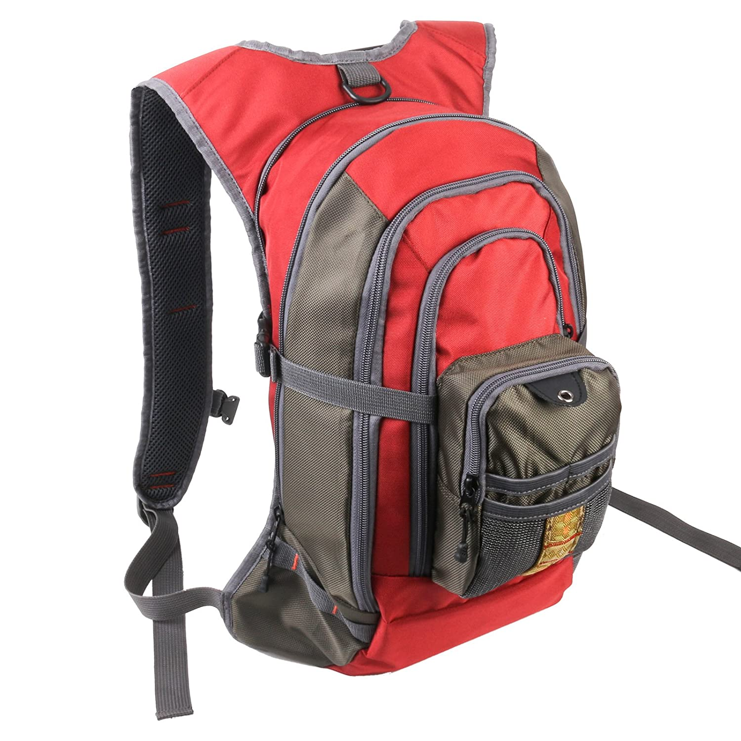 Fly fishing backpack with tackle chest pack for Fishing backpack amazon