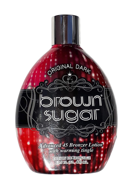 Tan Incorporated Original Dark Brown Sugar Tingle-Free Advanced 45 Bronzer Tanning Lotion 400ml TORI3