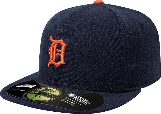 Amazon.com  Detriot Tigers 2008 Road On-Field 59FIFTY Cap   Hat ... 52112dbac