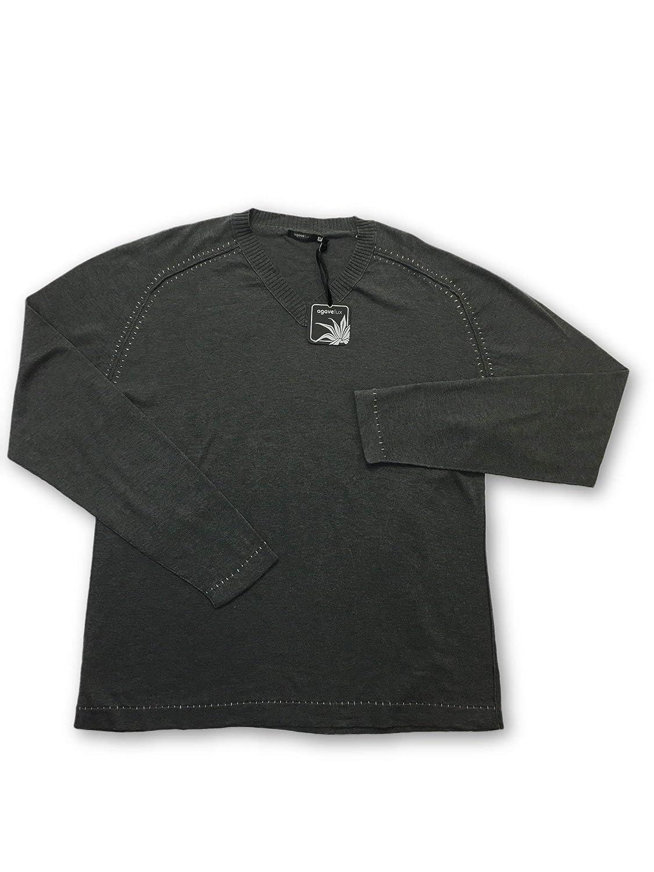 Agave Lux Kitzbuhel Knitwear in Grau Größe M Cotton