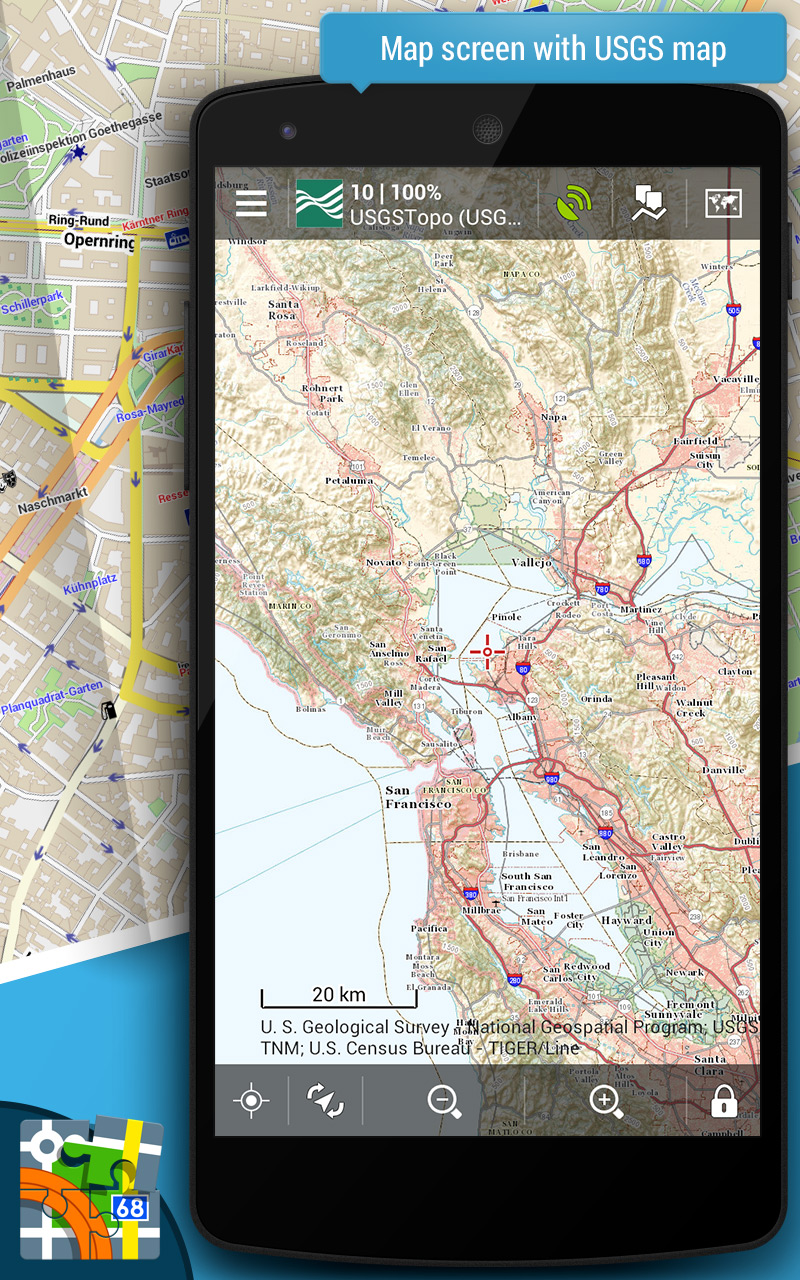 Amazon Com Locus Map Pro Outdoor Gps Appstore For Android