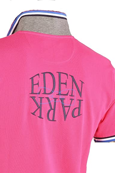 EDEN PARK - Polo - polo rose mirror - Taille XL  Amazon.fr ... e12d11a60064
