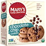 Mary's Gone Crackers Love Cookies, Chocolate Chip, 5.5 Ounce (Pack of 6)
