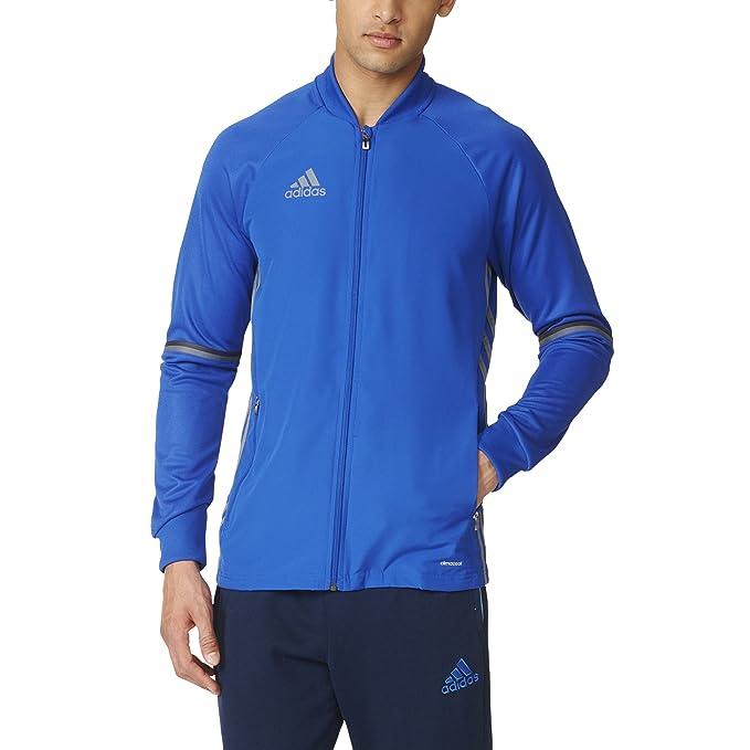 c2afe34ea2f1 Amazon.com  adidas Men s Condivo 16 Training Black Jacket  Sports ...