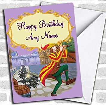 The Pied Piper Customised Birthday Greetings Card Cards Childrens Amazoncouk Office Products