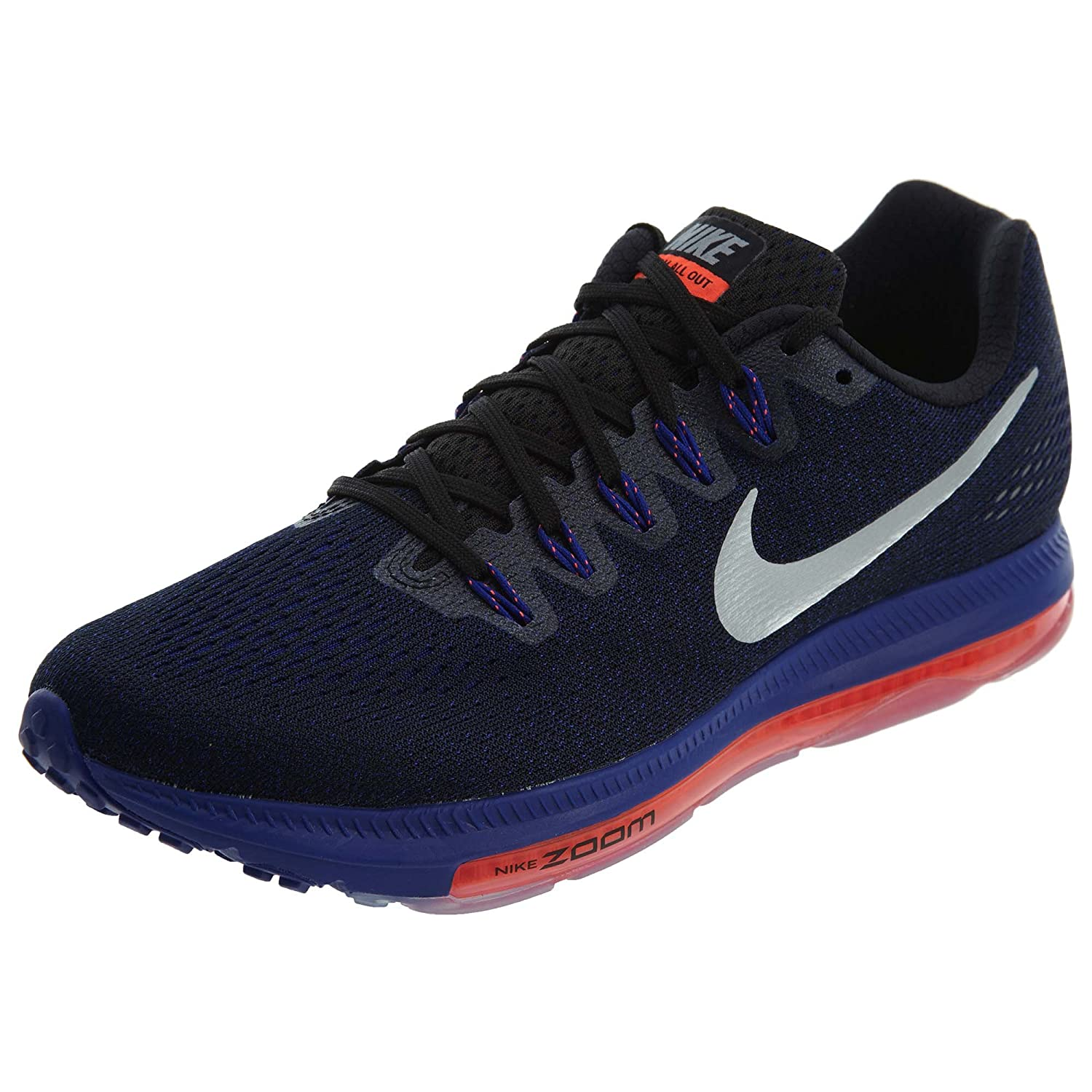 NIKE Zoom All Out Low Men's Running Sneaker B075X169YP 11.5 D(M) US|Black/Metallic Silver/Concord