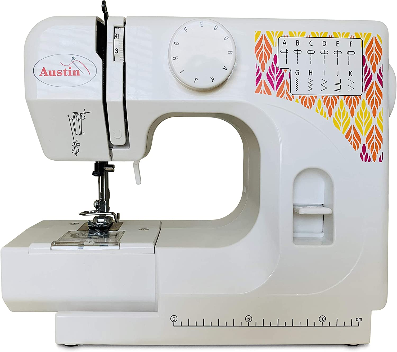 Austin AS17 máquina de coser compacta y ligera: Amazon.es: Hogar