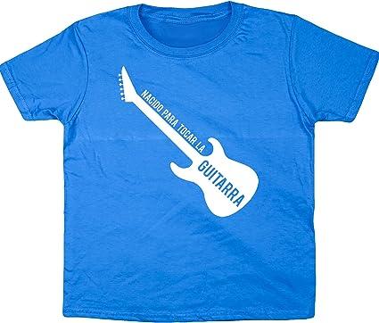 Hippowarehouse Nacido para Tocar La Guitarra (Eléctrica) Camiseta ...