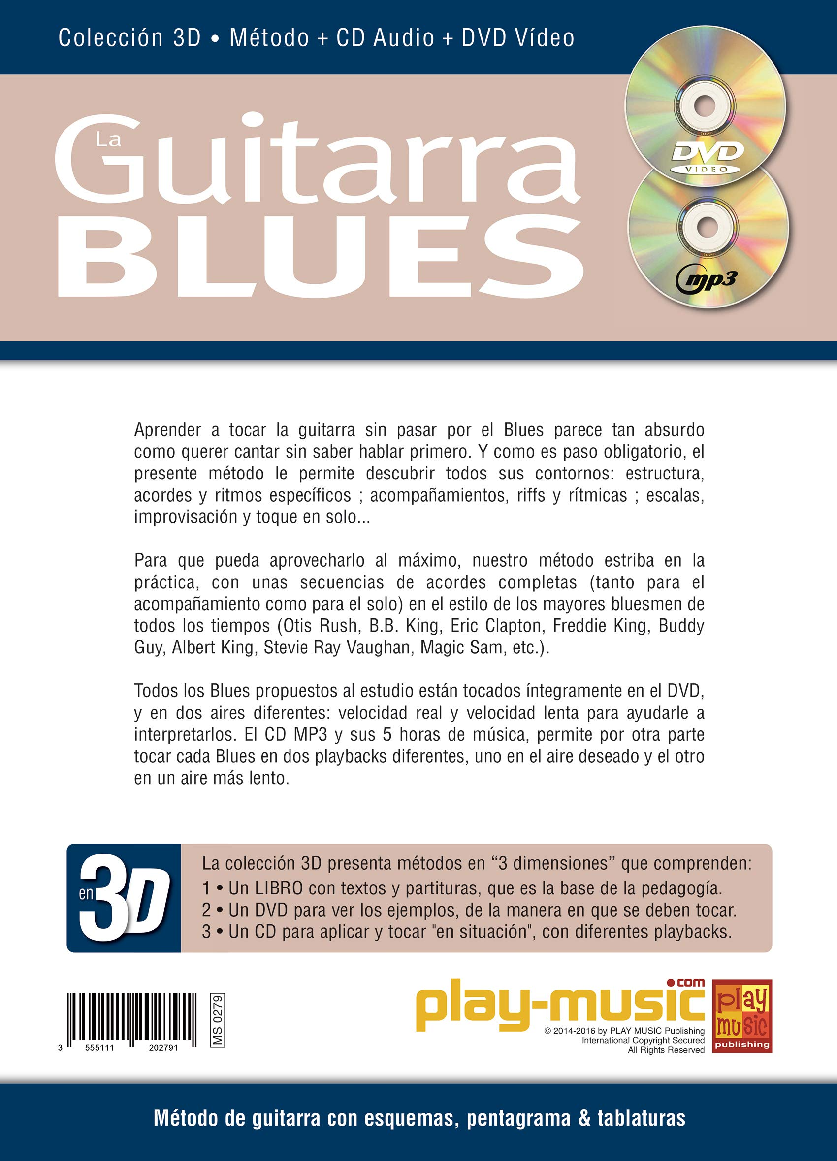 La guitarra blues en 3D - 1 Libro + 1 CD + 1 DVD: Amazon.es: Tomas ...