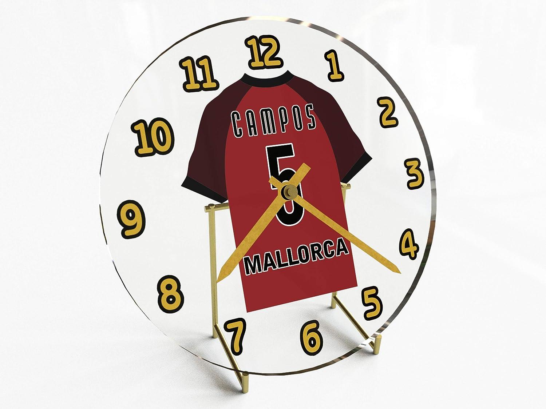 Reloj de sobremesa, diseño de camiseta de fútbol de La Liga ...