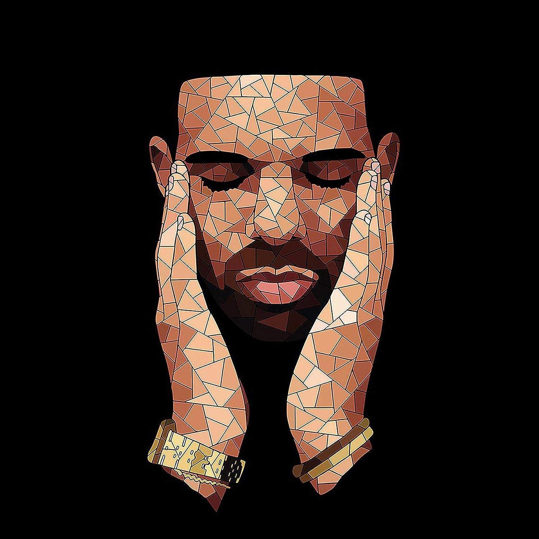 Unframed 11x14 Inches Canvas Art Print Drake Rapper Art Poster