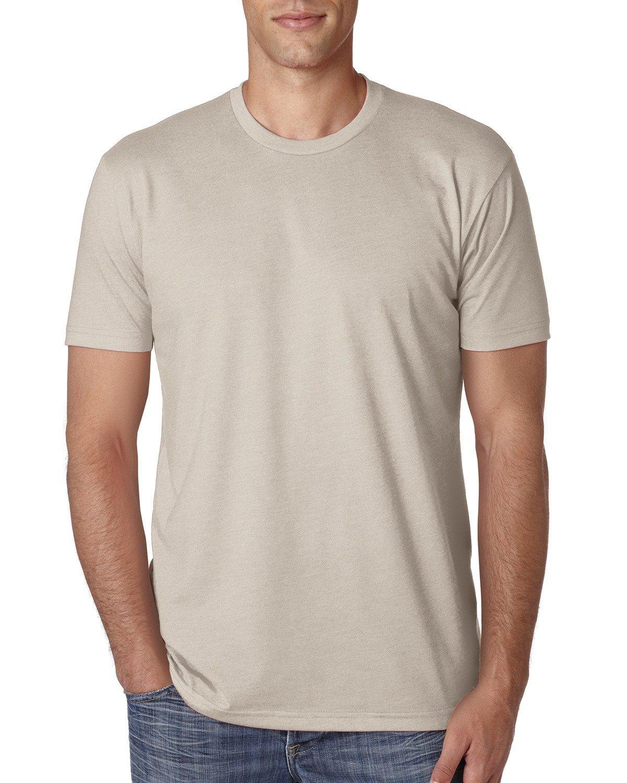 Next Level Apparel メンズ CVC クルーネック ジャージ Tシャツ B014WD1GWQ L|サンド サンド L