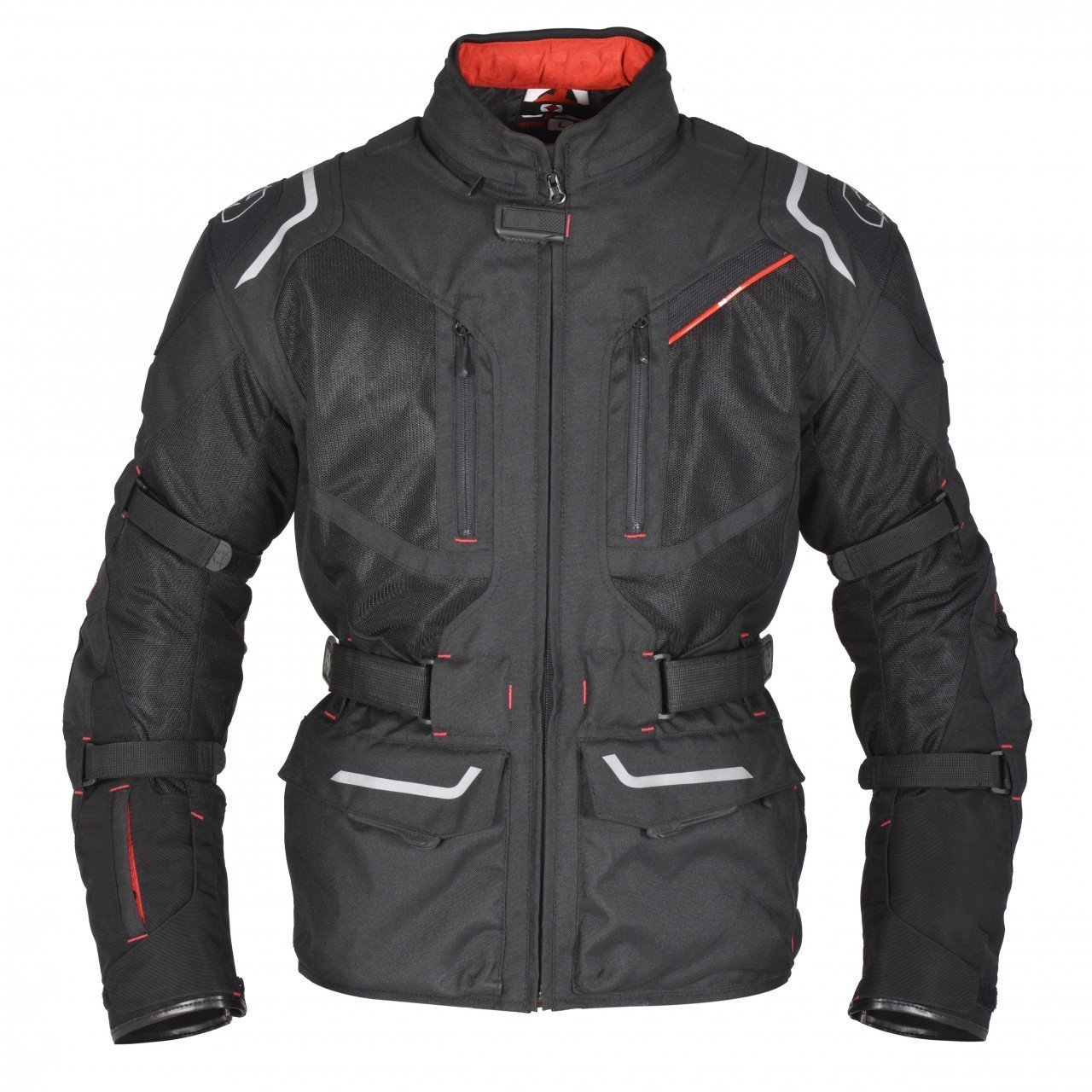 MAX MPH EXPLORER II Textile Cordura Motorcycle//Scooter Jacket armour /& waterproof Large