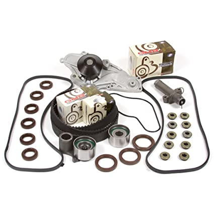 3.5 DOHC 24V J35A1 J35A4 Timing Belt Kit AISIN Water Pump Valve Cover Gasket Fits 97-04 Acura Honda 3.0 DOHC 24V J30A1 3.2 DOHC 24V J32A1 J32A2