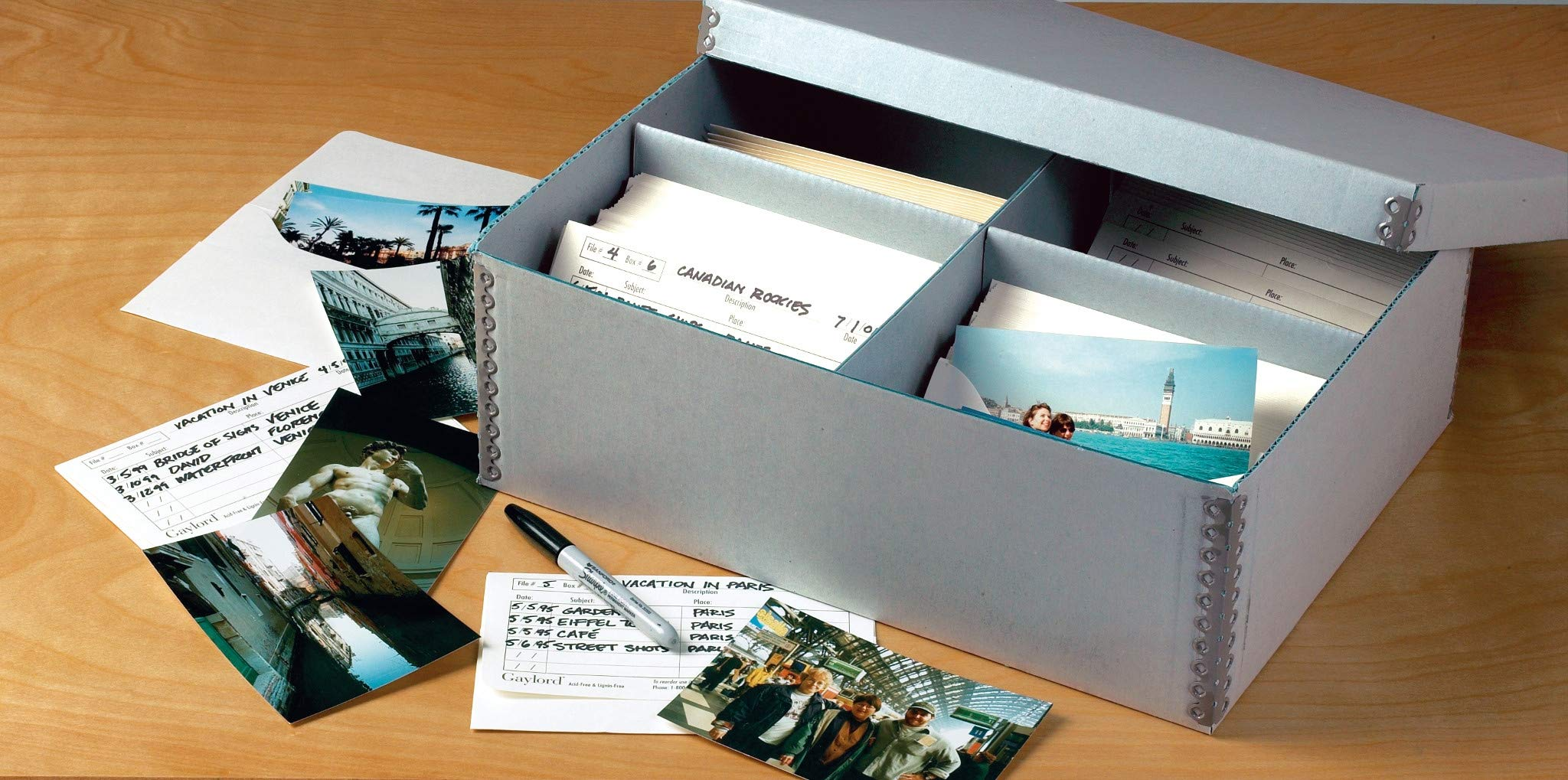 Gaylord Archival High-Capacity Photo Storage Kit