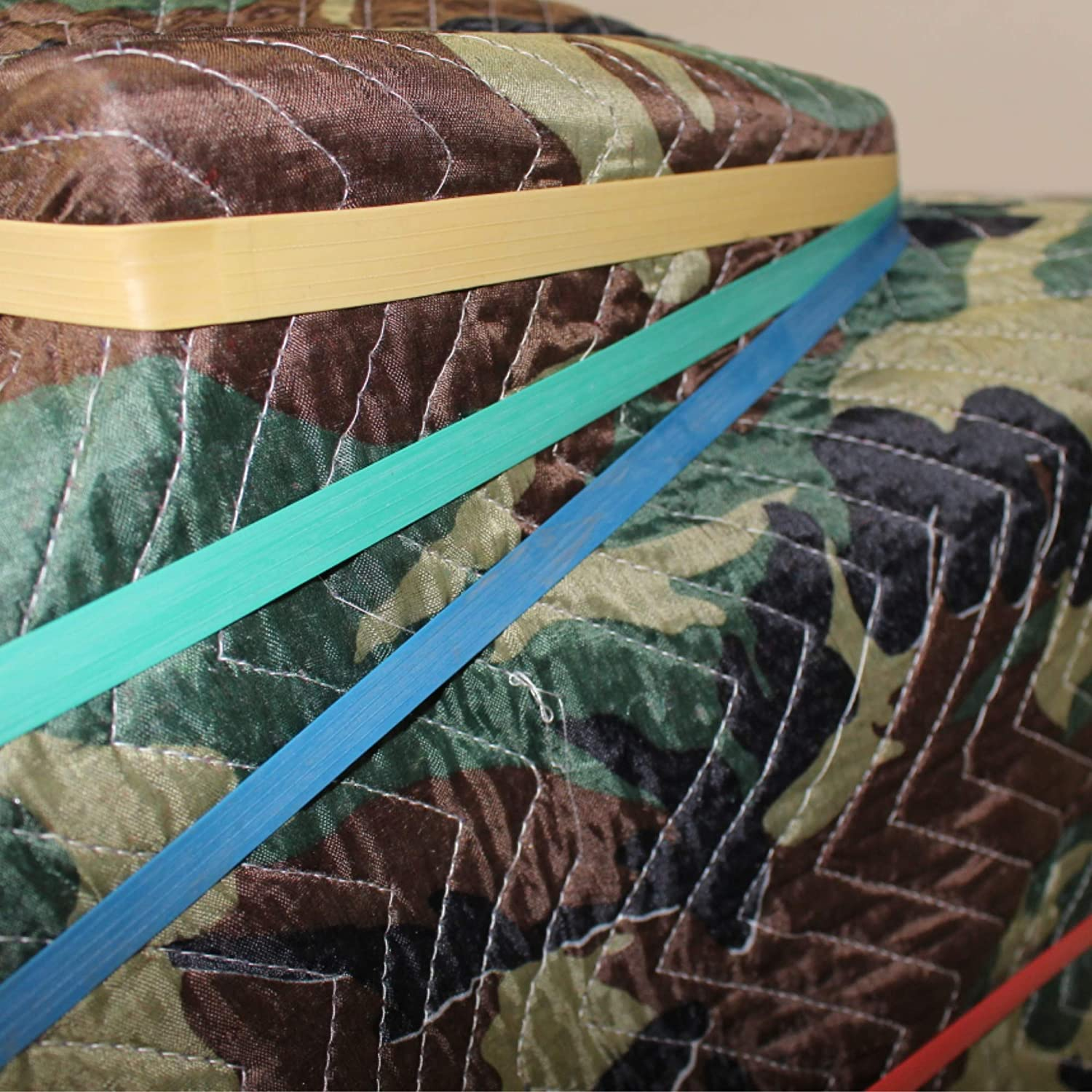 Bulk Mover Bands - SGT KNOTS Furniture Extra Large Rubber Bands Colorful Elastic Rubberbands for Moving /& Supplies Blankets Medium - Green Wide Ruber Band to Secure Loads 30 in - 24 Pack