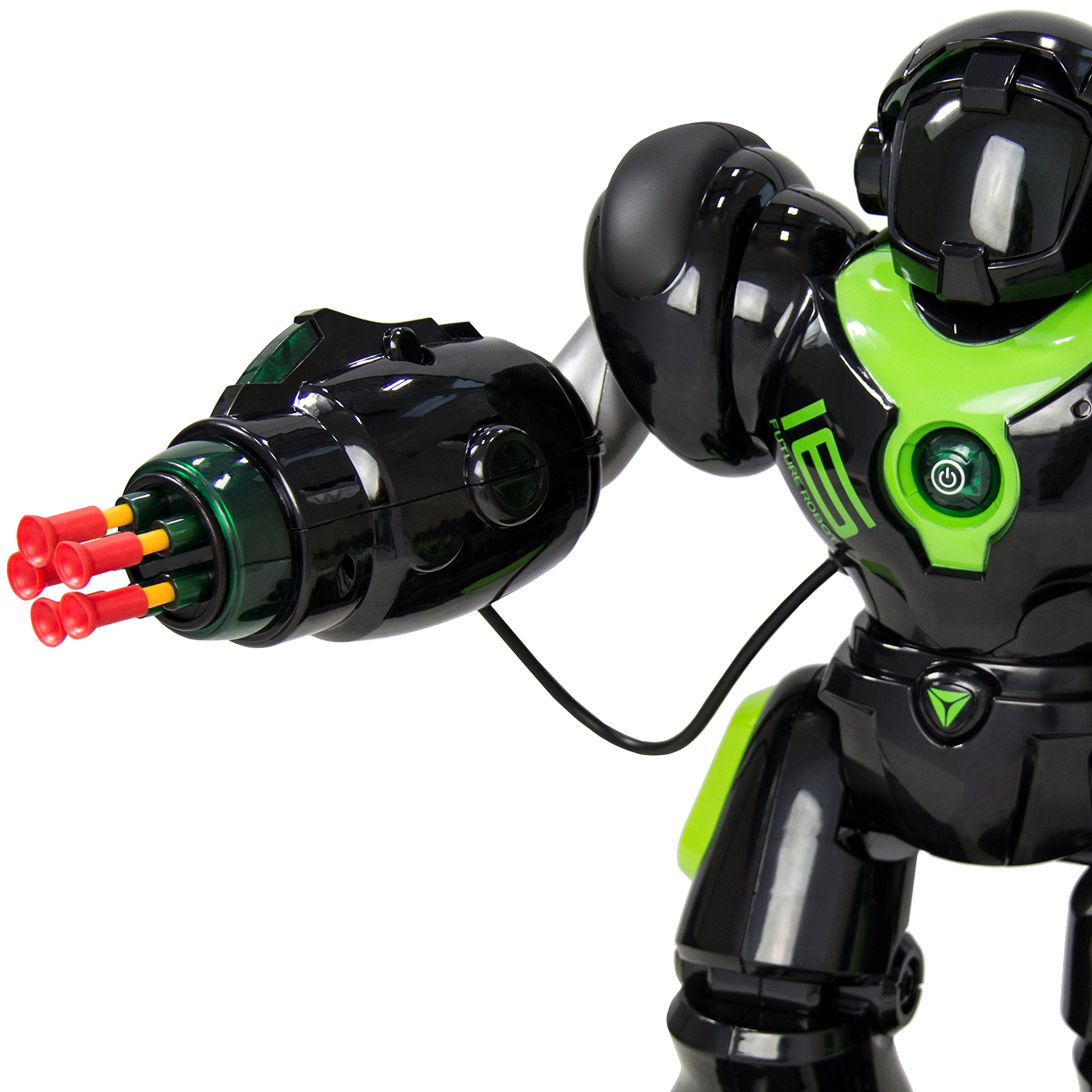 Best Choice Products Intelligent Remote Control RC Robot Talking Walking Shooting Light & Music Action Toys by Best Choice Products (Image #4)