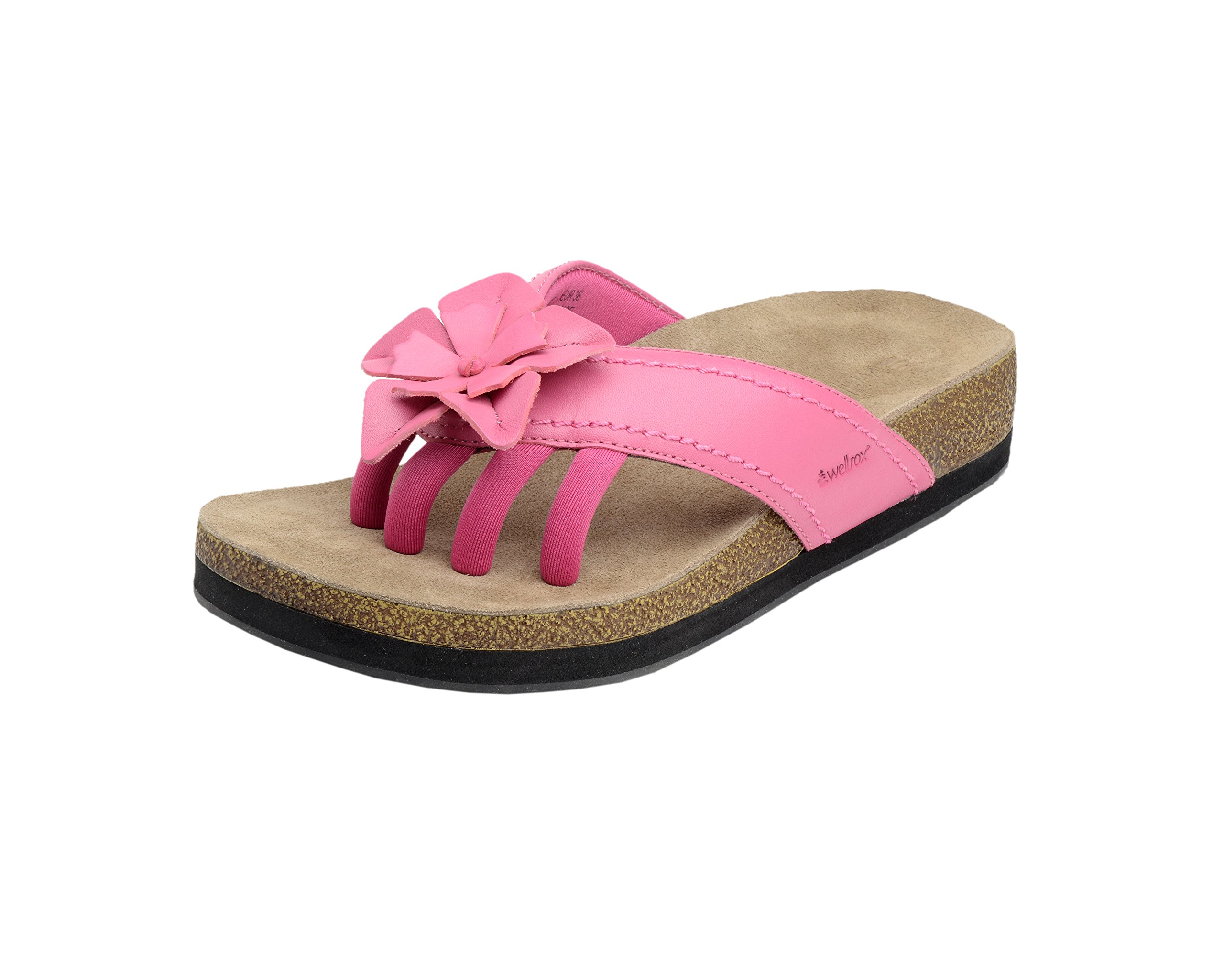 Wellrox Women's Terra-Chloe Hot Pink Casual Sandal 11 by Wellrox (Image #1)