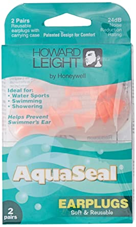 Honeywell AquaSeal Water-blocking Reusable Earplugs 2 Pairs #R-01684
