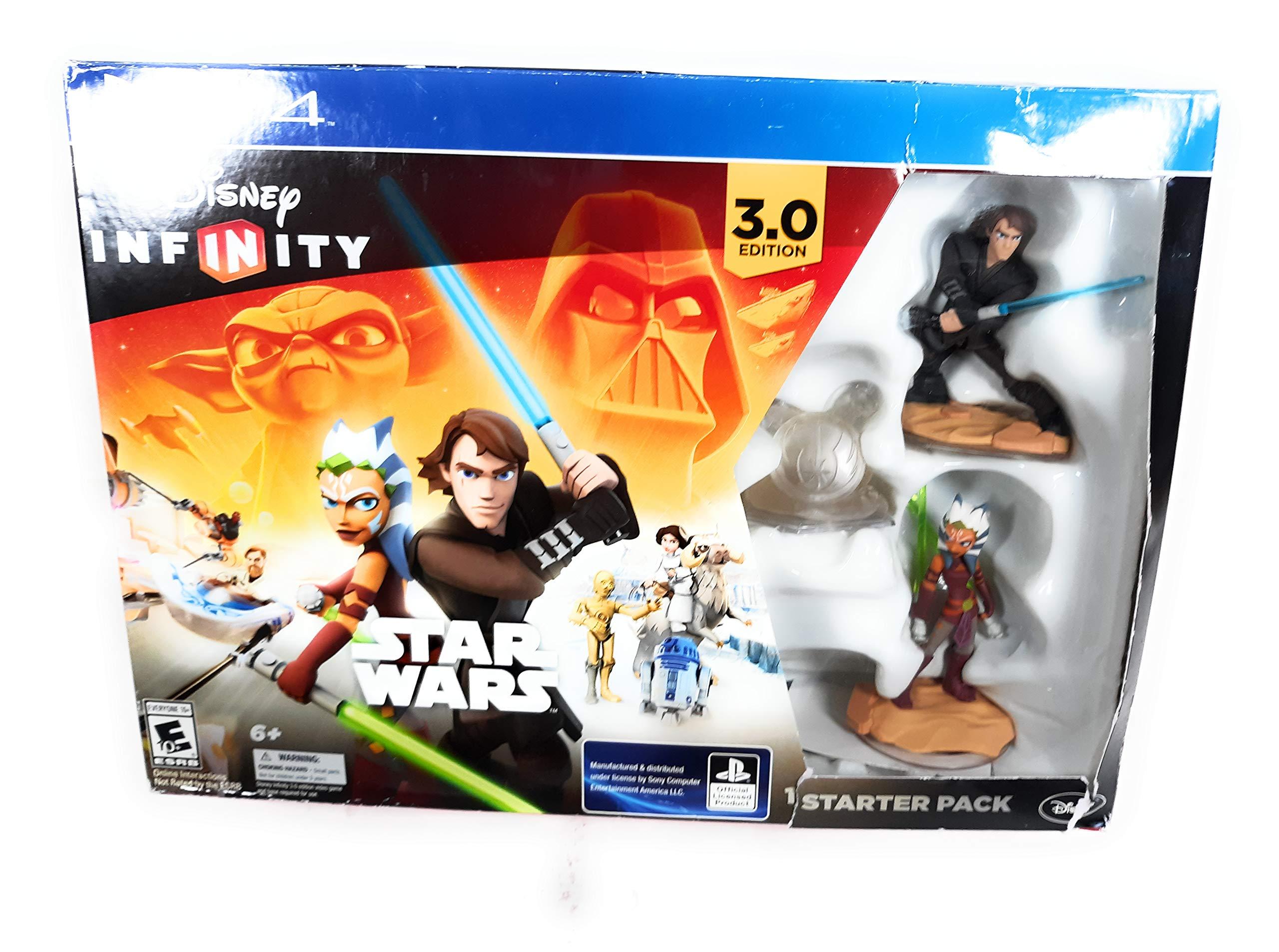 Disney Infinity 3.0 Edition Star Wars Ps4 Playstation 4 Starter Pack sellado
