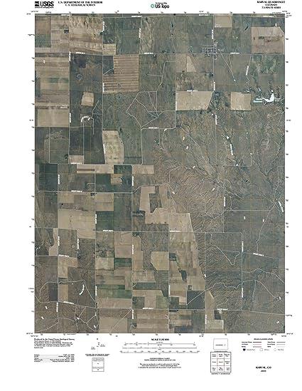 Amazon Com Colorado Maps 2010 Karval Co Usgs Historical