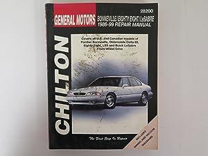 Chilton Bonneville/Eighty Eight/Lesabre 1986-1999 Repair Manual (28200)