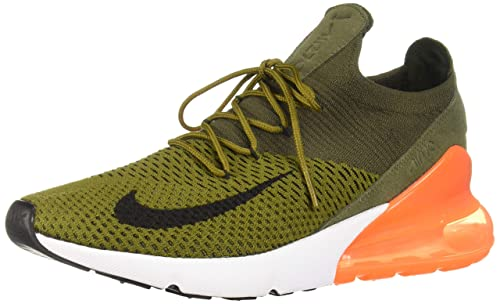f43f87a74b Nike Men's Air Max 270 Flyknit Nylon Basketball Shoes: Amazon.ca ...