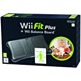 Nintendo Wii Fit Plus with Balance Board - Black (Wii)